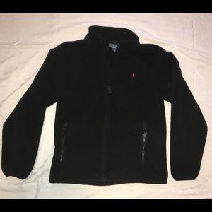 Polo boys black large ( 14-16 ) soft jacket